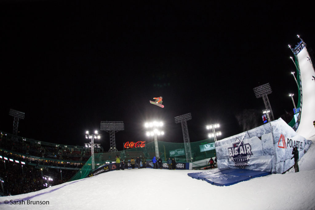 Snowboard finals 2016 Polartec Big Air at Fenway U.S. Snowboarding Grand Prix Photo: U.S. Snowboarding